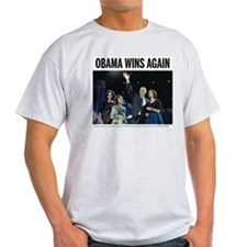 Obama wins again T-Shirt