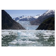 South Sawyer Glacier and bay, Tongass National For