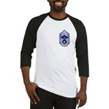 USAF - CMSgt(E9) - No Text Baseball Jersey