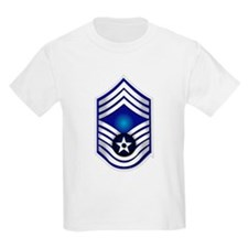 USAF - CMSgt(E9) - No Text T-Shirt