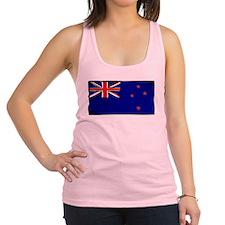New Zealand Flag Racerback Tank Top