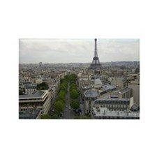Cute Paris france Rectangle Magnet