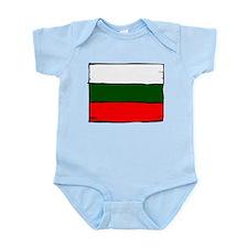 Bulgarian Flag Infant Bodysuit