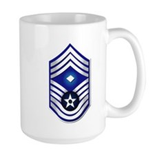 USAF - 1stSgt (E9) - No Text Mug