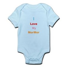 I Love My MorMor Infant Bodysuit