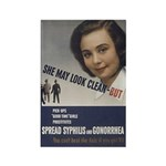 She May look... Rectangle Magnet (100 pack)