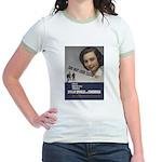 She May look... Jr. Ringer T-Shirt