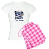 Personalized Teacher Pajamas