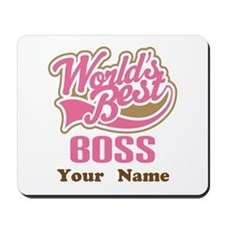 Personalized Boss Gift Mousepad