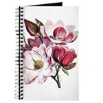 Pink Magnolia Flowers Journal