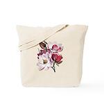 Pink Magnolia Flowers Tote Bag