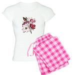 Pink Magnolia Flowers Women's Light Pajamas