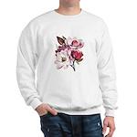 Pink Magnolia Flowers Sweatshirt
