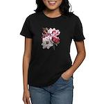 Pink Magnolia Flowers Women's Dark T-Shirt