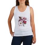 Pink Magnolia Flowers Women's Tank Top