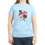 Pink Magnolia Flowers Women's Light T-Shirt