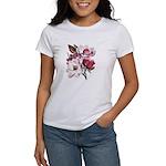 Pink Magnolia Flowers Women's T-Shirt