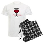 Malbec Drinker Men's Light Pajamas
