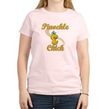 Pinochle Chick #2 T-Shirt