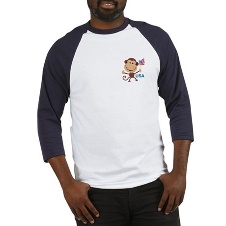 USA Monkey: Baseball Jersey