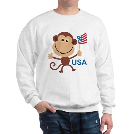 USA Monkey: Sweatshirt
