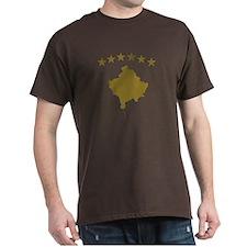 Kosovo map flag T-Shirt