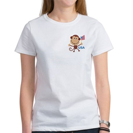 USA Monkey: Women's T-Shirt