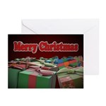 Christmas Presents Card (Pk of 10)