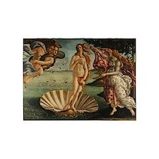 Botticelli Birth Of Venus 5'x7'Area Rug
