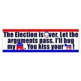 Kiss Your Ass Bumper Sticker