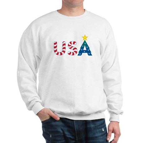 USA Christmas: Sweatshirt