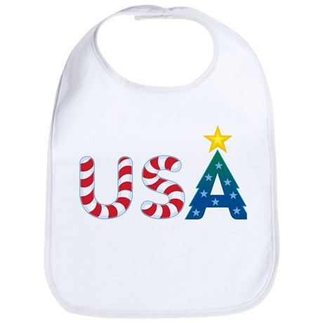 USA Christmas: Bib