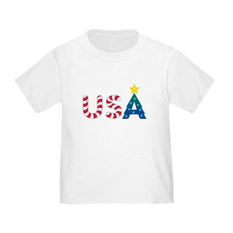 USA Christmas: Toddler T-Shirt