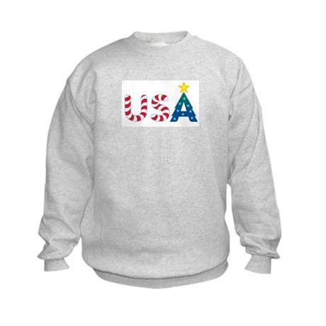 USA Christmas: Kids Sweatshirt