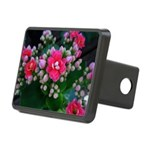 .pink kalanchoe. Rectangular Hitch Cover