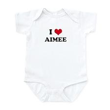 I HEART AIMEE Infant Creeper