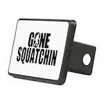 Gone Squatchin Sasquatch Rectangular Hitch Cover