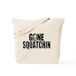 Gone Squatchin Sasquatch Tote Bag