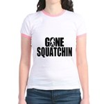 Gone Squatchin Sasquatch Jr. Ringer T-Shirt