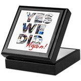 Yes We Did (Again): Obama 2012 Keepsake Box