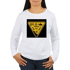 Yield to Shred - Mountain Bike T-Shirt