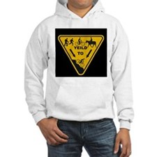 Yield to Shred - Mountain Bike Hoodie