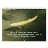 2013 Wild Trout Wall Calendar