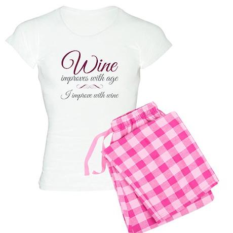 Wine Improves With Age Pajamas