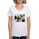 Wildflower Love Women's V-Neck T-Shirt