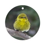 Spring Birds Ornament (Round)