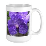 Blue Orchid Large Mug