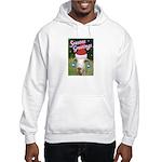 Ruby the Sassy Christmas Goat Hooded Sweatshirt