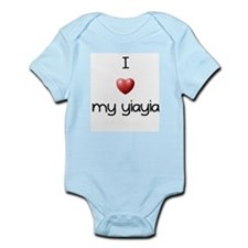 I Love Yia Yia Infant Bodysuit
