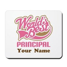 Personalized School Principal Mousepad